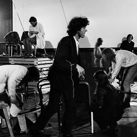 Cornelius Cardew & the Scratch Orchestra (1970) - courtesy of Victor Schonfield' s archive